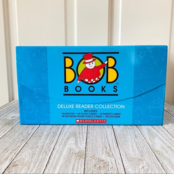 Bob Books 104 Book Deluxe Reader Collection